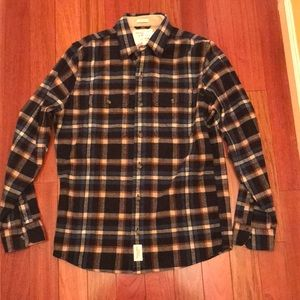 Other - NWT Abercrombie Button Down Flannel LG
